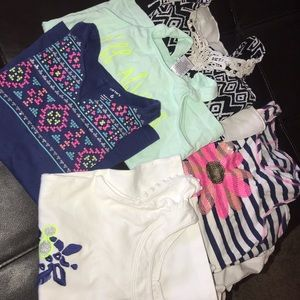 Size 5 lot of tank tops